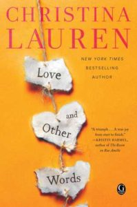 Cover of Love and Other Words by Christina Lauren