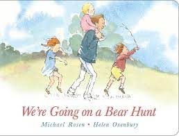 We're Going on a Bear Hunt: Lap Edition: Rosen, Michael, Oxenbury, Helen:  9781481419246: Amazon.com: Books