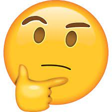 🤔 - thinking face emoji - What does the thinking face emoji mean?